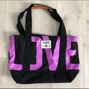 Victoria's Secret LOVE PINK large tote bag